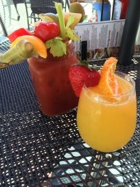 Spicy Shirley + Mimosa