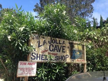 La Jolla Cave Shop Sign