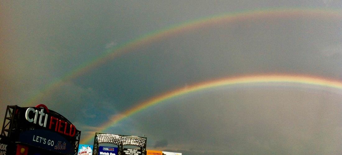 Double Rainbow Citi Field