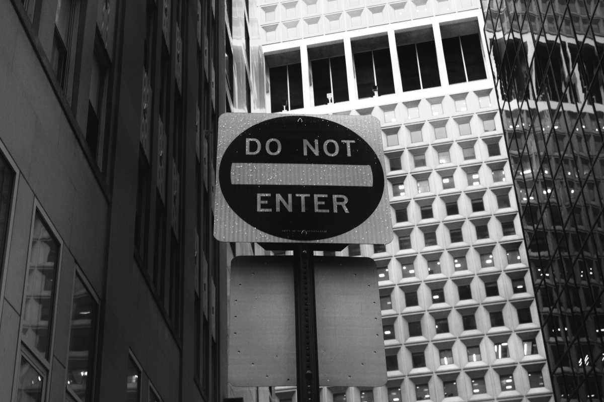 Do not enter (apples and adventures blog)