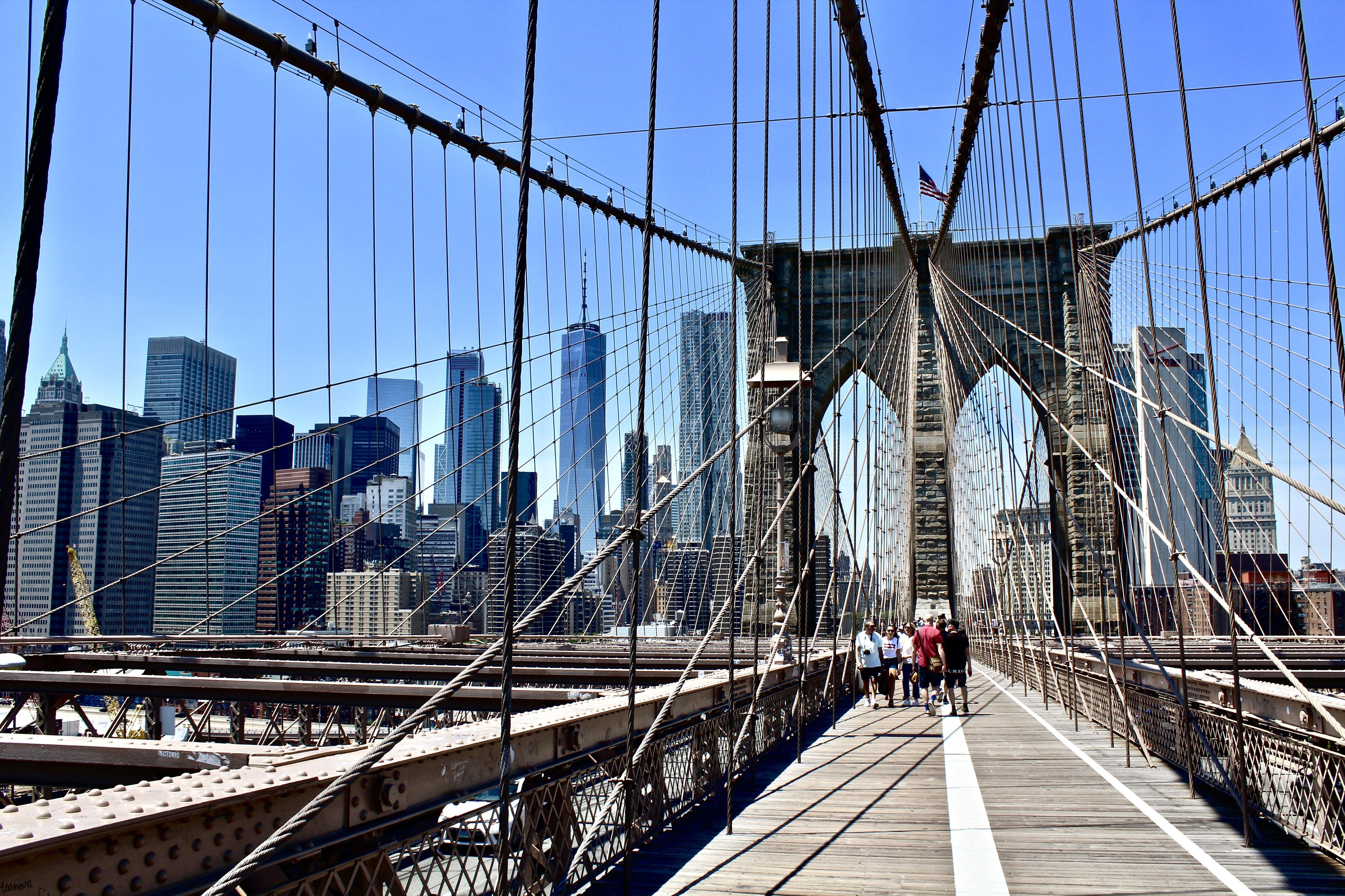 Applesandadventuresblog: Wordless Wednesday Brooklyn Bridge