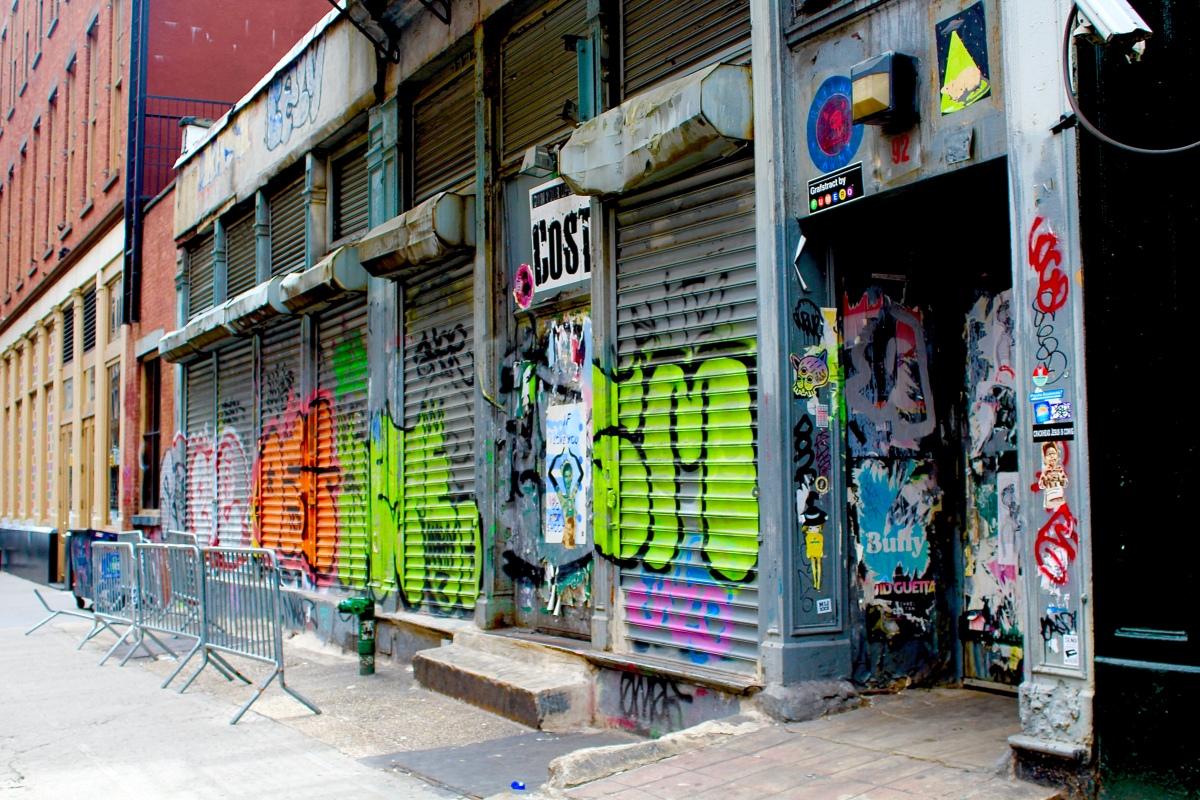 Wordless Wednesday: NYC Graffiti
