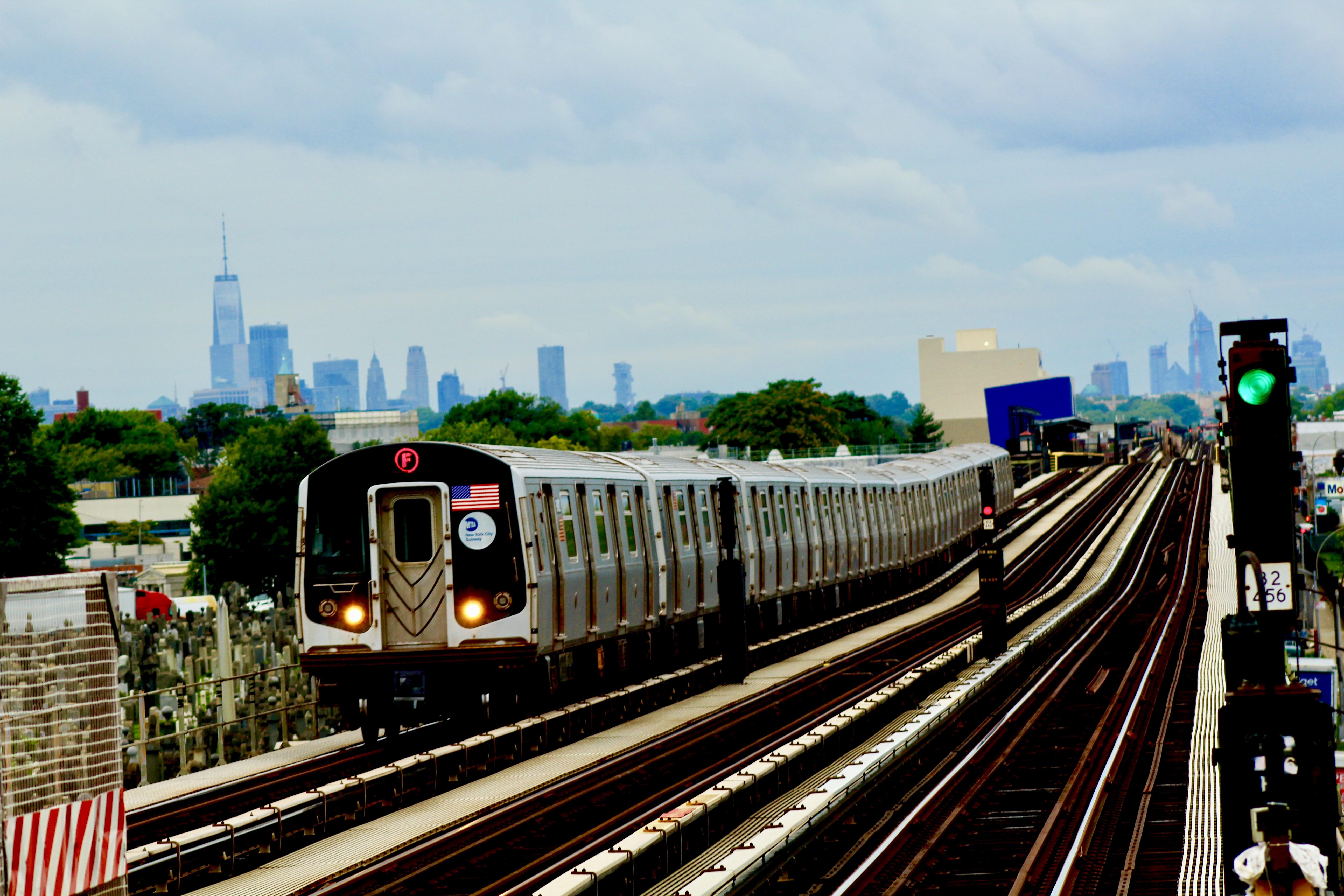 Wordless Wednesday: F Train