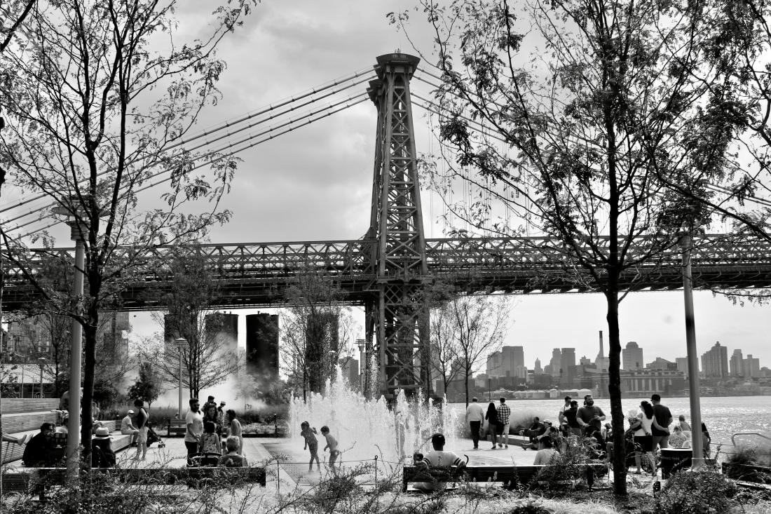 Williamsburg Bridge Domino Park