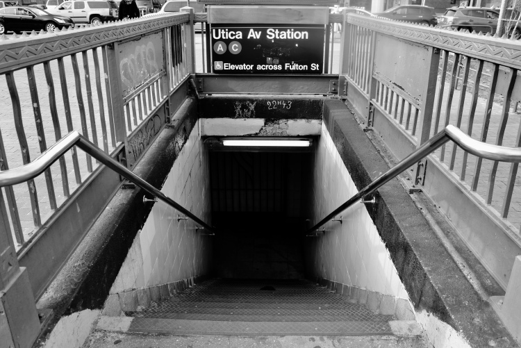 Fulton Street - Utica Ave Train Station, Brooklyn