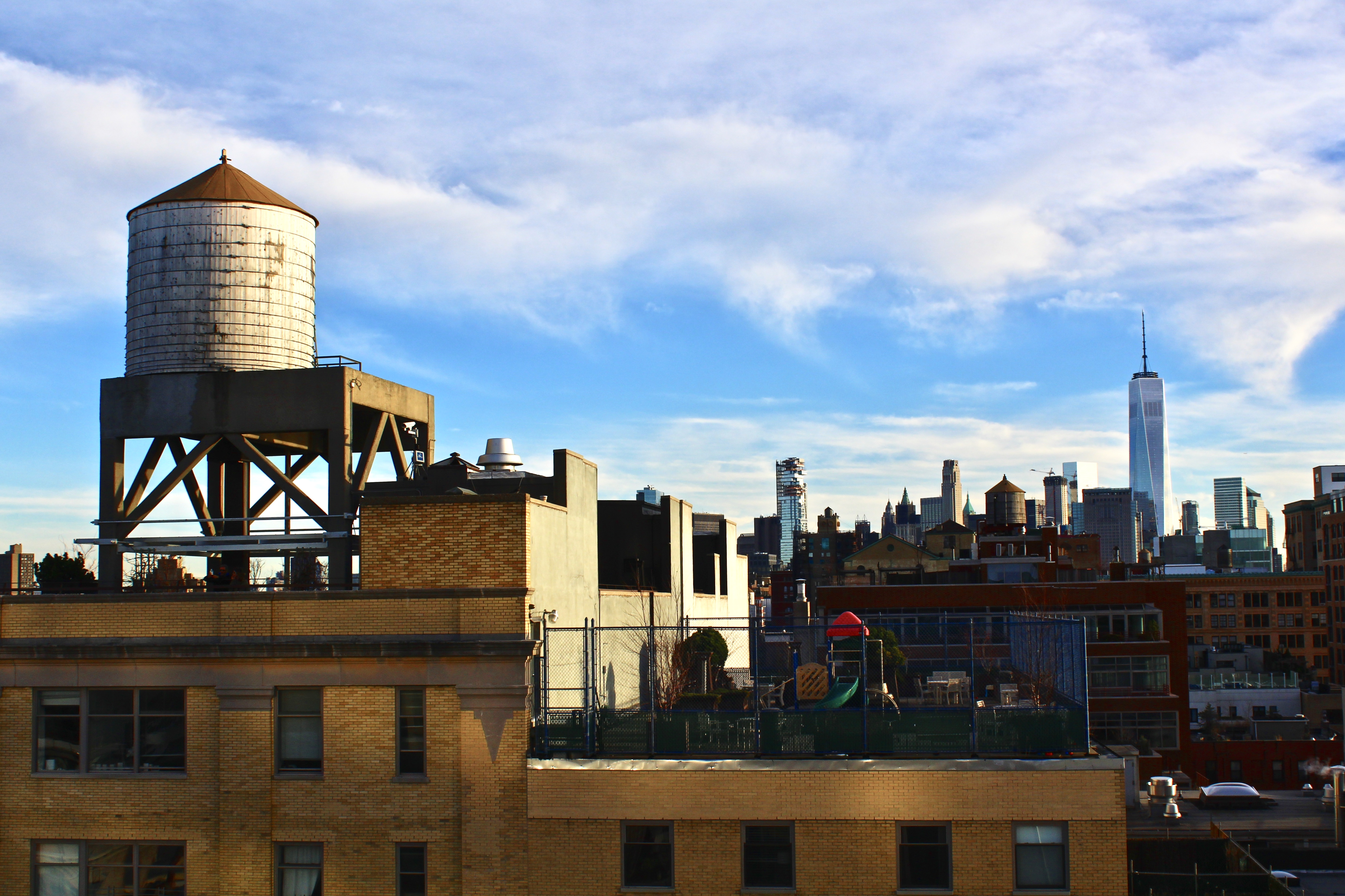 As seen from Whitney Museum