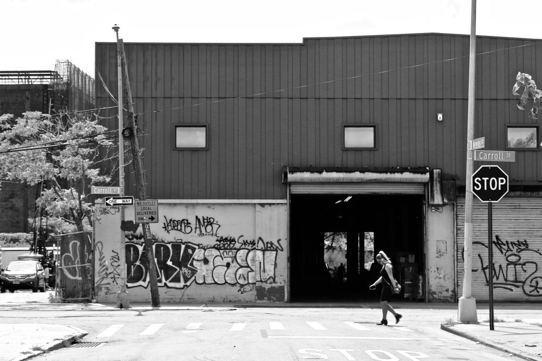 Street Crossing in Gowanus - Dyce Photography